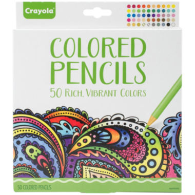 jcpenney.com | Crayola 50-pc. Colored Pencil Set