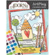 Adorn It Faith Watercolor Coloring Book