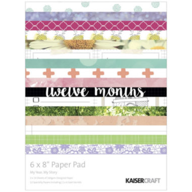jcpenney.com | Kaisercraft Paper Pad My Year