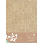 """Burlap 8x12"""" Paper Pad - 10 Sheets"""