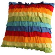 Fiesta Ruffle Decorative Pillow
