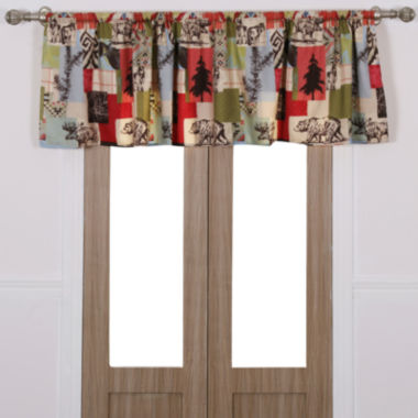 jcpenney.com | Greenland Home Fashions Rustic Lodge Rod-Pocket Valance