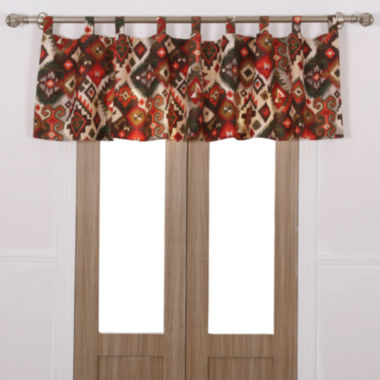 jcpenney.com | Greenland Home Fashions Folk Festival Rod-Pocket/Tab-Top Valance