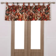 Greenland Home Fashions Folk Festival Rod-Pocket/Tab-Top Valance
