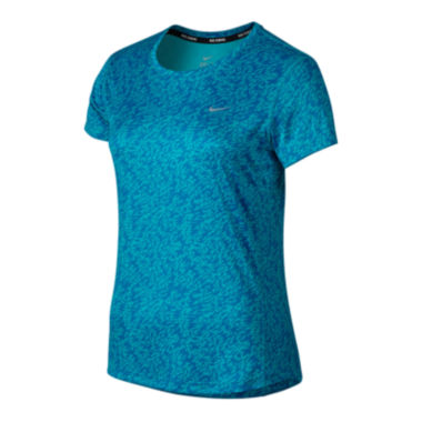 jcpenney.com | Nike® Pronto Miler Short-Sleeve Top