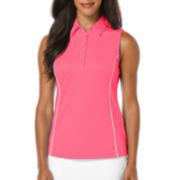 PGA Tour® Golf Performance Sleeveless Airflux Polo Shirt