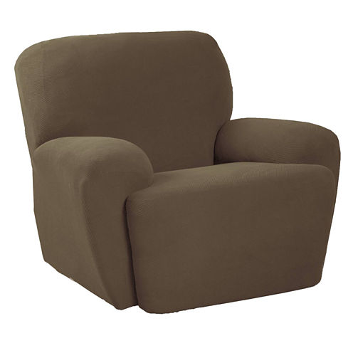 Maytex Smart Cover® Pixel Stretch 3-pc. Recliner Slipcover