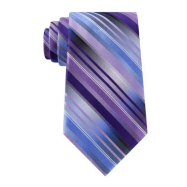 jcpenney.com | Van Heusen® Mission Stripe Silk Tie -  Extra Long
