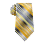 Van Heusen® Mission Stripe Silk Tie -  Extra Long