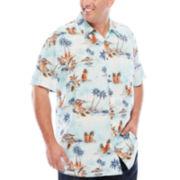 The Foundry Supply Co.™ Printed Rayon Shirt - Big & Tall
