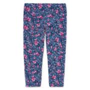 Arizona Printed Capri Leggings - Girls 7-16 and Plus