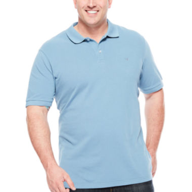 jcpenney.com | Dockers® Short-Sleeve Pique Polo Shirt - Big & Tall