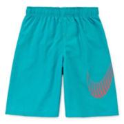 Nike® Big Swoosh Volley Swim Trunks - Boys 8-20