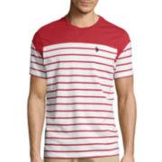 U.S. Polo Assn.® Short-Sleeve Striped Baseball Tee