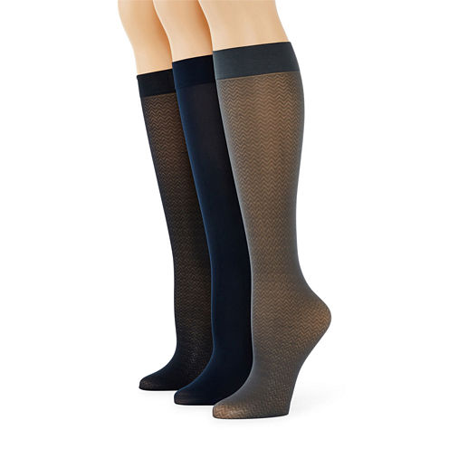 Mixit™ 3-pk. Trouser Socks - Extended Size