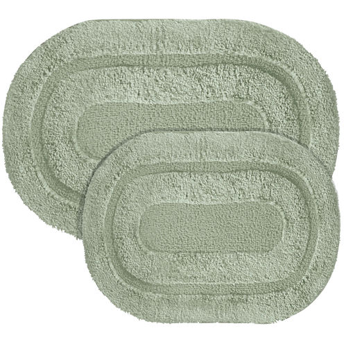 Popular Bath Products Pearl Memory Foam 2-pc. Bath Rug Set