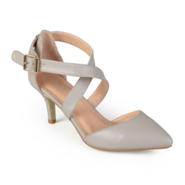 jcpenney.com | Journee Collection Riva Strap Pumps