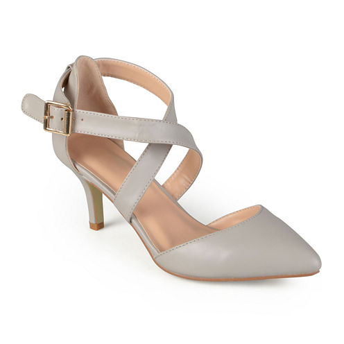 Journee Collection Riva Strap Pumps