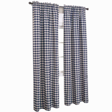 jcpenney.com | Buffalo Check Rod-Pocket Curtain Panel