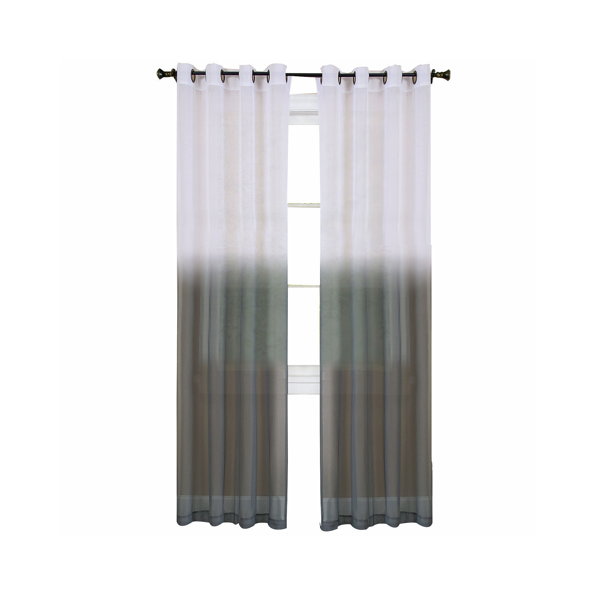 essence grommet kitchen curtains - 28 images - essence grommet ...