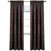 Sutton Blackout Rod-Pocket Curtain Panel