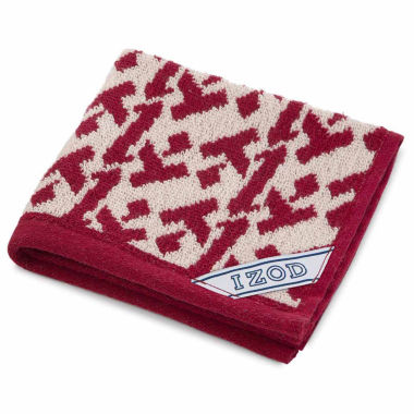 jcpenney.com | IZOD Logo Bath Towel Collection