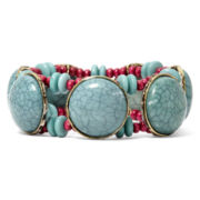 Aris by Treska Linked Circle Stretch Bracelet