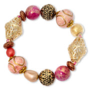 Aris by Treska Chunky Beaded Stretch Bracelet