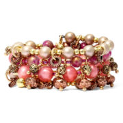 Aris by Treska Beaded Coil Wrap Bracelet