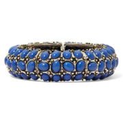 Aris by Treska Dark Blue Stretch Bracelet