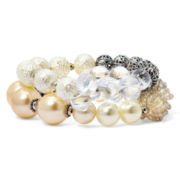 Aris by Treska Double Row Stretch Bracelet