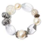 Aris by Treska Chunky Bead Stretch Bracelet