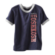 OshKosh B'gosh® Vertical Logo Tee - Boys 2t-4t