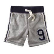OshKosh B'gosh® Gray French Terry Shorts - Boys 2t-4t