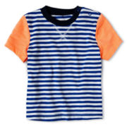 Joe Fresh™ Striped Tee - Boys 3m-24m