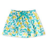 Okie Dokie® Print Skort - Girls 12m-6y