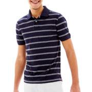 Arizona Jersey-Stripe Polo Shirt