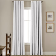 JCPenney Home™ Jenner Cotton Grommet-Top Thermal Curtain Panel