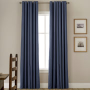 JCPenney Home™ Jenner Grommet-Top Thermal Curtain Panel