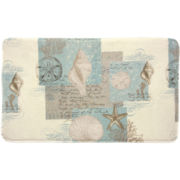 Coastal Moonlight Memory Foam Bath Rug