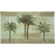 Citrus Palm Bath Rug