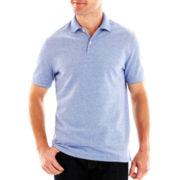 St. John's Bay® Legacy Oxford Piqué Polo Shirt