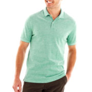 St. John's Bay® Legacy Oxford Piqué Polo Shirt