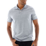 St. John's Bay® Oxford Piqué Polo Shirt