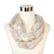 Floral Mini Loop Scarf