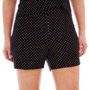 Ambrielle® Knit Boxer Sleep Shorts - Plus