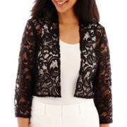 R&M Collection Lace Bolero Shrug