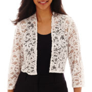 R&M Richards Lace Bolero Shrug