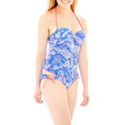 Arizona Paisley Print Tankini Swim Top or Hipster Bottoms - Juniors