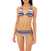 Arizona Tribal Print Triangle Swim Top or Hipster Bottoms - Juniors